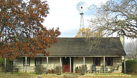 Historic farmhouse near Fredericksburg TX. MJ Ross